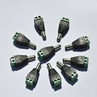 10PCS 2.1x5.5mm DC Male Connector Power Jack Adapter Plug For LED Strip Light