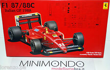 KIT FERRARI F1 87/88C ITALIAN GP WINNER 1988 BERGER 1/20 FUJIMI 09049 9049