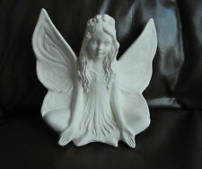 "Pottery Fairy ""Lotus Fairy"" Parian Style Pottery.   # 640"