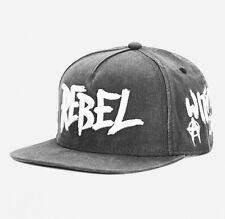CAYLER & SONS C&S BL REBEL Cap Black Woodland - Black Label Snapback