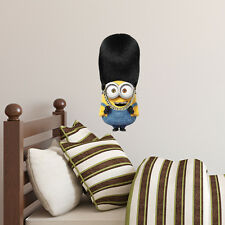 Despicable ME 2 Minion BOB Vinyl Decal Bedroom Wall Car Sticker Art Gift Hat New