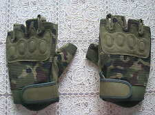 07's series China PLA Airborne Troops Combat Deer Leather Gloves,B