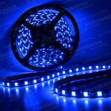 Blue 5m 16ft Roll 5050 SMD LED 300 LEDs Flexible Waterproof Light Strip Ribbon