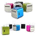 1PC Mini USB Micro SD TF Speaker Music Player Portable FM Radio Stereo PC MP3