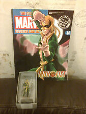 CLASSIC MARVEL FIGURINE COLLECTION 44 IRON FIST FIGURE BOXED W MAGAZINE