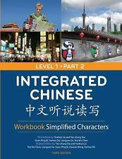 Integrated Chinese 1/2 Workbook Simplified Characters Tao-chung Yao 2008 NEW!