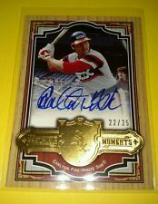 2004 SP Legendary Cuts CARLTON FISK Memorable Moments Autograph WHITE SOX /25
