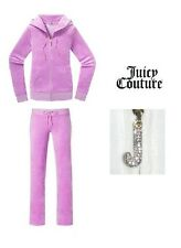JUICY COUTURE J BLING HOODIE AND BLING PANTS Track SET L NEW