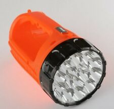 15 LED Worklight Rechargeable Flashlight Camping Hunting Hiking Emergency Lights