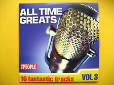 ALL TIME GREATS VOLUME 3 ONLY , CD, A THE PEOPLE NEWSPAPER PROMOTION (1 CD)