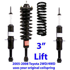 "TOYOTA TACOMA FRONT 3""LIFT LEVELING KIT #71371L/R STRUTS 4WD & PreRunner only"