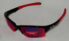 NEW OAKLEY QUARTER JACKET YOUTH OO9200-18 BLACK W/ PRIZM ROAD LENS