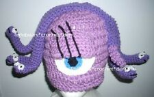CUSTOM Boutique CROCHETED MONSTERS INC. CELIA SNAKE HAT Beanie halloween costume