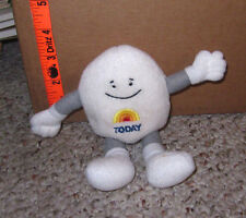 TODAY SHOW plush egg doll NBC morning television show toy TV bean