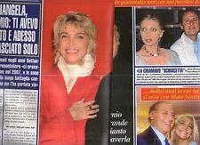 Ga42 Ritaglio Clipping del 2013 Renzo Arbore Addio a Mariangela Melato