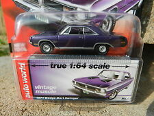 2016 AUTO WORLD 1:64 *PREMIUM 5B* Purple 1971 Dodge Dart Swinger *NIP!*