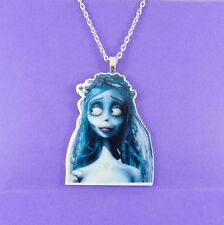 CORPSE BRIDE NECKLACE tim burton victor emily goth scene punk skeleton zombie