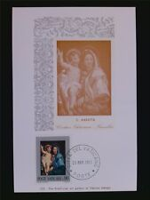VATICAN MK 1971 MADONNA & CHRISTUS GEMÄLDE MAXIMUMKARTE MAXIMUM CARD MC CM c6268