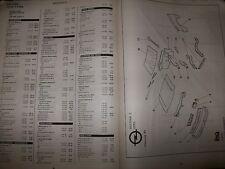 Fiat - Lancia - Alfa Romeo : Catalogue pièces EA 01-97