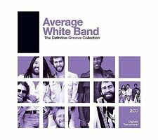 The Definitive Groove Collection by The Average White Band CD, 2006) 2 Discs NEW