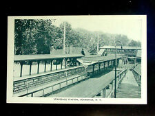c.1930? Scarsdale RR Station Scarsdale NY post card Westchester County
