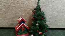 Christmas tree & Winter bird house, Vintage  Home Interiors Gifts