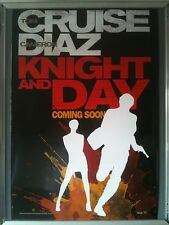 Cinema Poster: KNIGHT AND DAY 2010 (Advance One Sheet) Tom Cruise Cameron Diaz