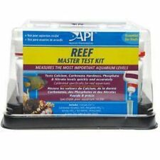 API Aquarium Reef Master MarineTest Kits Will help To grow healthy Corals