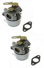 (2) CARBURETOR Carbs for Tecumseh 640299 640299A 640299B for Snow Blower Thrower