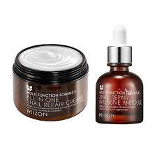 [MIZON] All In One Snail Cream 120ml [Super Size] + Snail Repair Ampoule 30ml