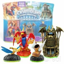 New Skylanders Spyro's Adventure Dragon's Peak Adventure Pack Sunburn Official