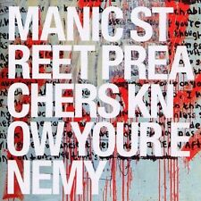 "MANIC STREET PREACHERS -""KNOW YOUR ENEMY"" -BRAND NEW CD 2001"