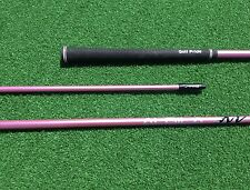 PINK ALDILA NV 55 S STIFF LONG DRIVE DRIVER SHAFT FOR PING G25 I25 ANSER DRIVER