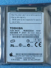 "1.8"" MK8022GAA HDD1805 5MM ZIF Hard Disk Drive 80GB For iPod Classic 6th gen"