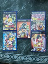 Super Lot  5 Jeux DRAGON BALL Z PS2 PAL  Version Fr