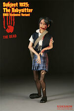 """Sideshow The Dead: Subject 1025: Babysitter -Blue 2008 SDCC Exclusive 12"""" Figure"""
