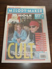 MELODY MAKER 1991 NOVEMBER 23 HOLE U2 CULT ICE CUBE BIZARRE INC CURE