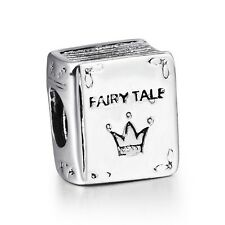 Funny Fairy tale Child Bead New Sterling 925 Silver European Charms For Bracelet