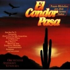 ANTHONY VENTURA - EL CONDOR PASA CD INSTRUMENTAL NEU