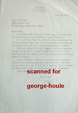 OTTO LUENING - LETTER - SIGNED - 1970 - ELECTRONIC MUSIC COMPOSER - BMI