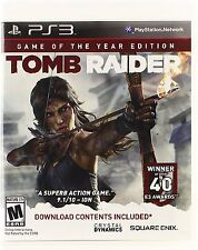 *NEW* Tomb Raider GOTY - PS3