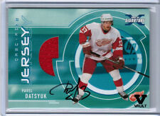 2016 ITG FINAL VAULT PAVEL DATSYUK 02/03 BAP SS JERSEY AUTO DETROIT RED WINGS