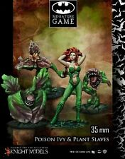Batman Miniature Game Poison Ivy & Plants Slaves NIB