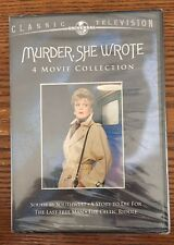 MURDER SHE WROTE 4 MOVIE COLLECTION New Sealed 2 DVD Set