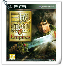 PS3 DYNASTY WARRIORS 7 Shin Sangoku Musou Empires 真三國無雙6 中文版 Action Koei Tecmo