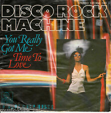 "DISCOTECA ROCK MACHINE-you really Got Me (CV Kinks) * 7"" single"