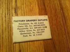 vintage pocket mirror Factory Drapery Outlet New Jersey Pennsylvania Cherry Hill