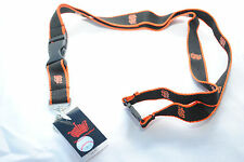 San Francisco Giants Lanyard, Black with Orange Edges