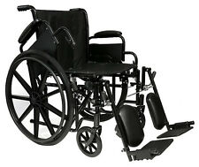 "Pro Basic 20"" Manual Wheelchair, Foldable, Lightweight."