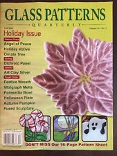 Glass Patterns Quarterly Holiday Issue Votive Wreath Fall 2015 FREE SHIPPING JB